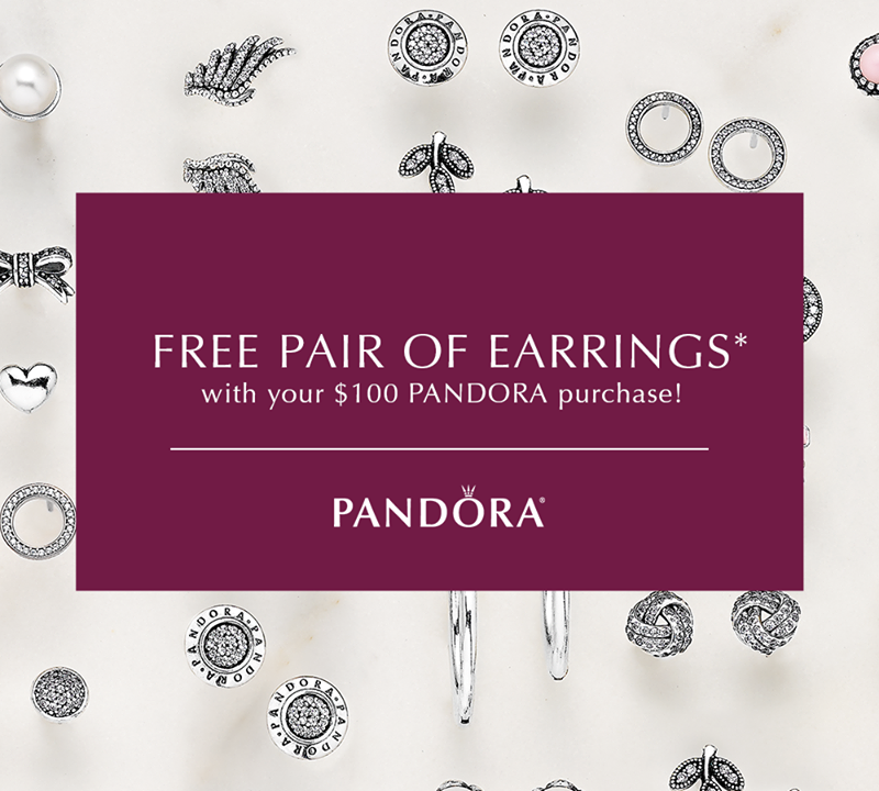 Pandora N.A. Earrings Promotion Begins