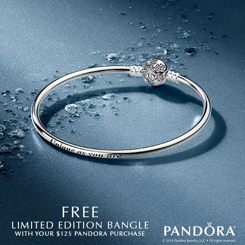 Pandora Black Friday Promotions 2016
