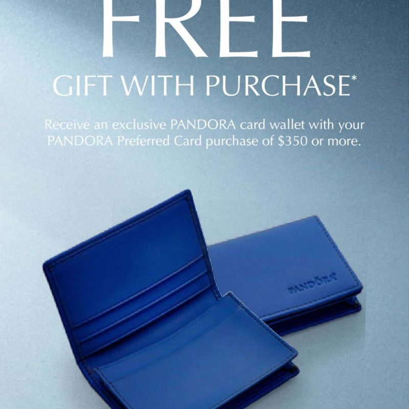 Pandora Winter 2016 Preferred Cardholders Promo