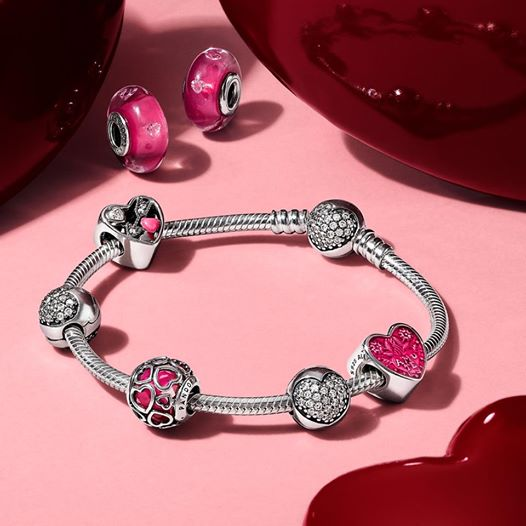 Pandora Valentine's Day 2017 Collection Debut