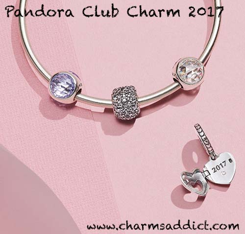 Pandora Club Charm 2017 Unveiled
