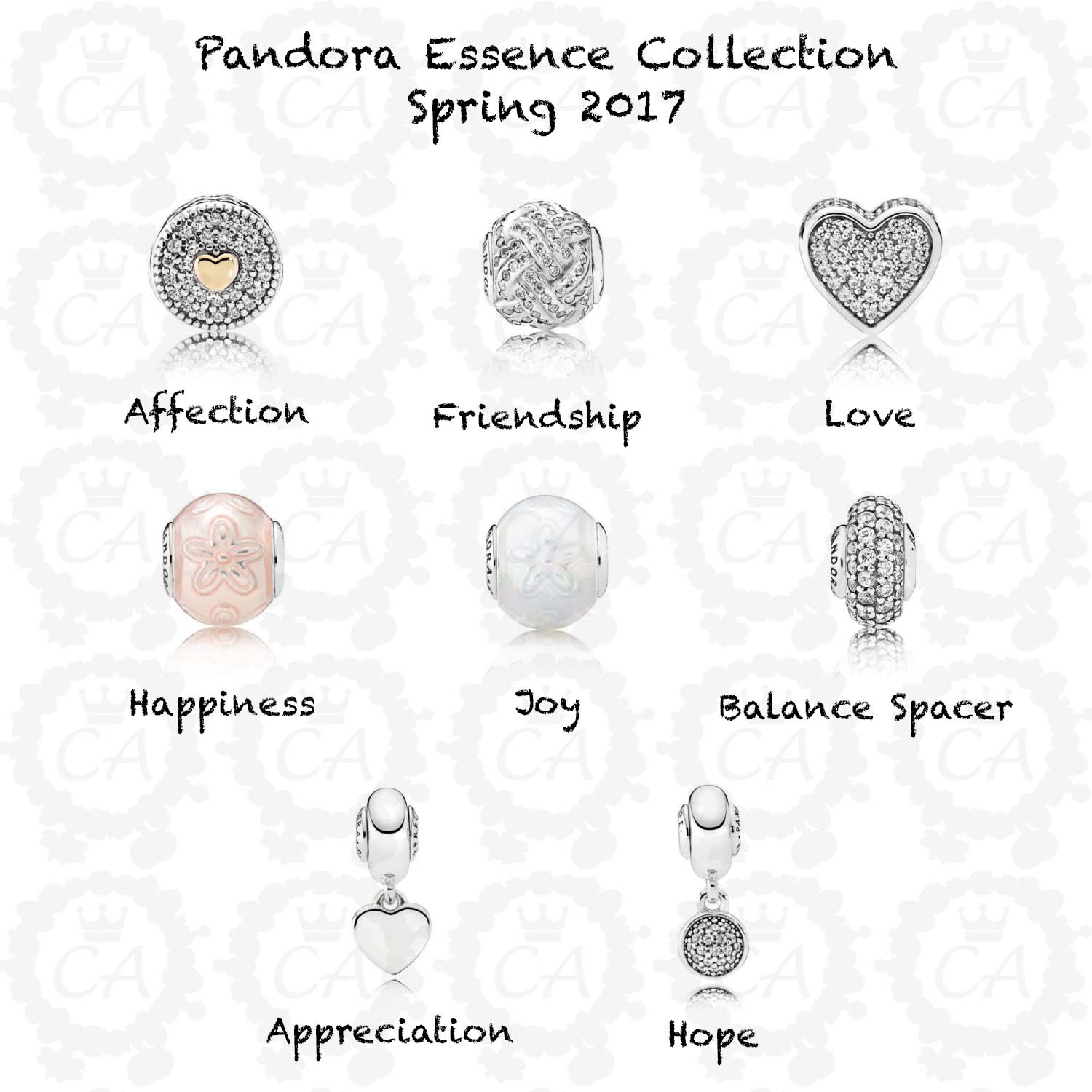 pandora essence charms addict