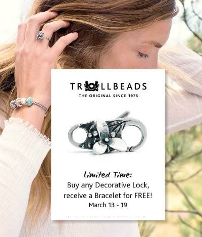 Trollbeads Spring 2017 Free Bracelet Event
